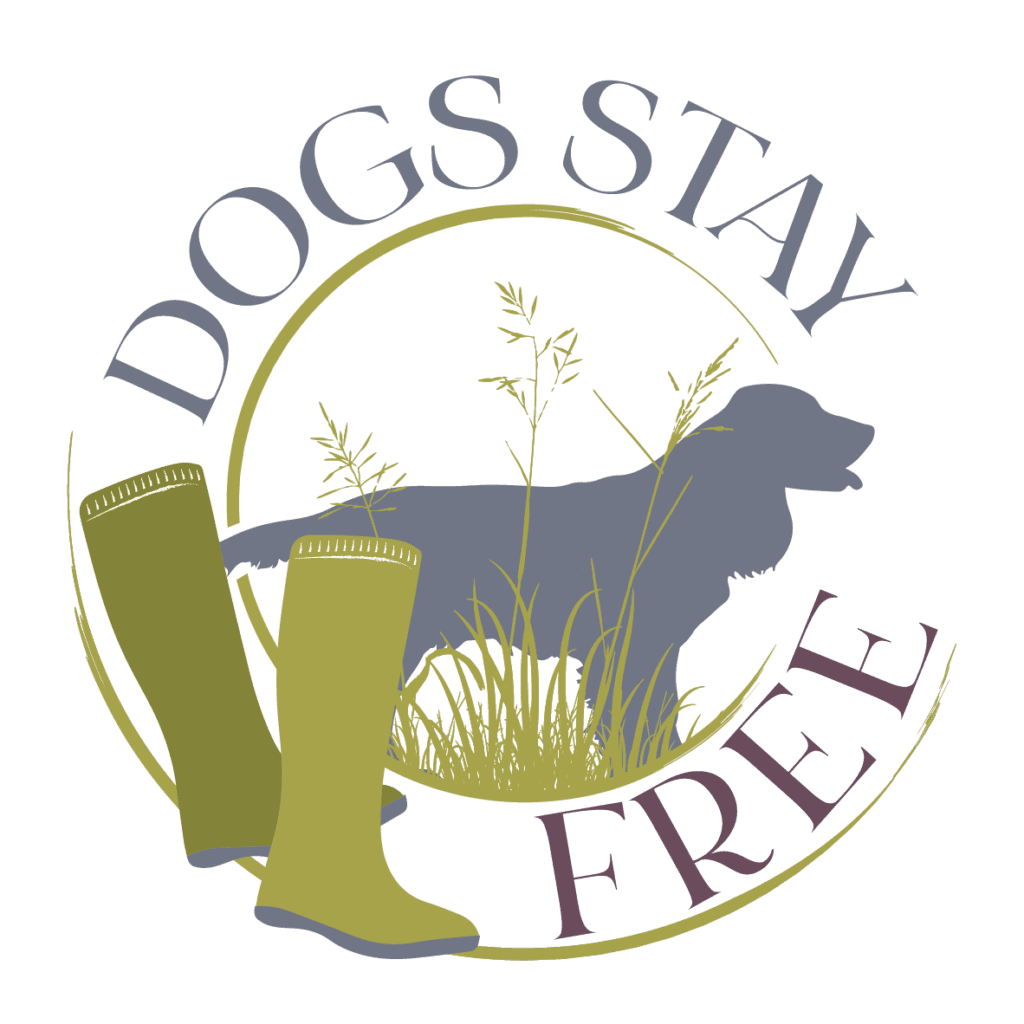 Dogs stay free | Dog Holiday rentals | Somerset | Dog friendly Logo