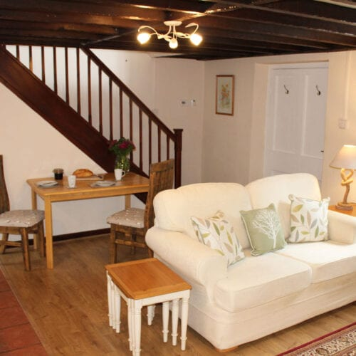 Large living room to relax on your Somerset Holiday