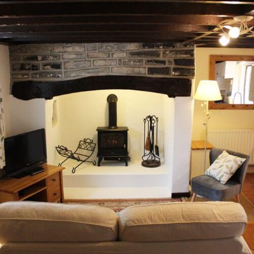 Holiday rental with log burner near Langport