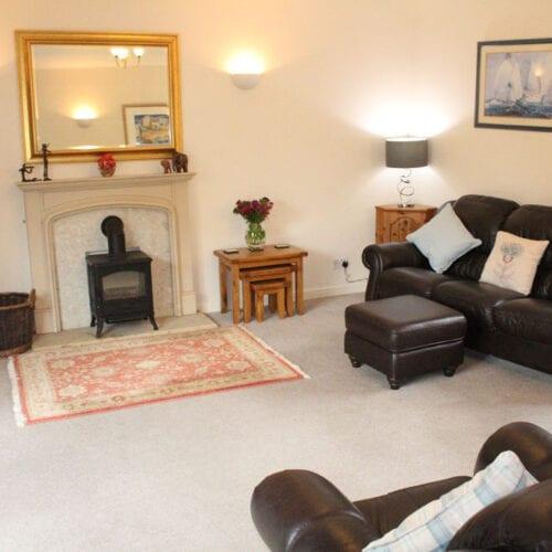 Somerset holiday cottage with tv and log burner