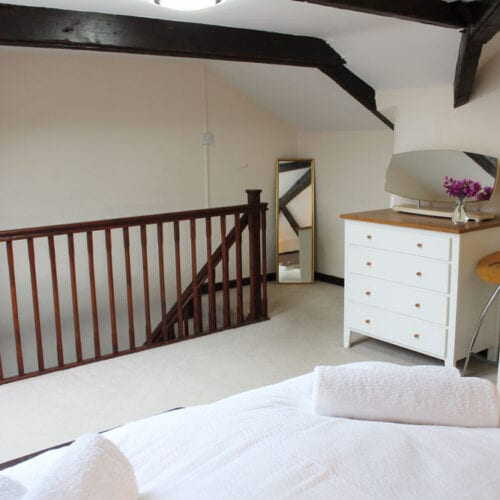 Bright, airy bedroom - perfect for couple's holiday
